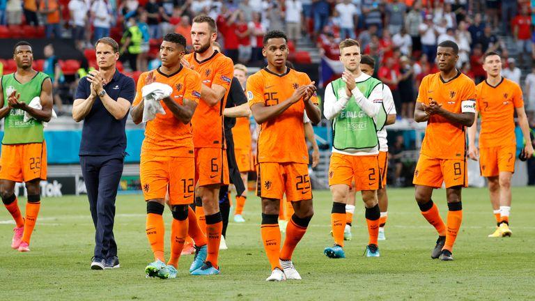 Oranje verloor met 2-0 van de Tsjechische ploeg.  Foto: Abby