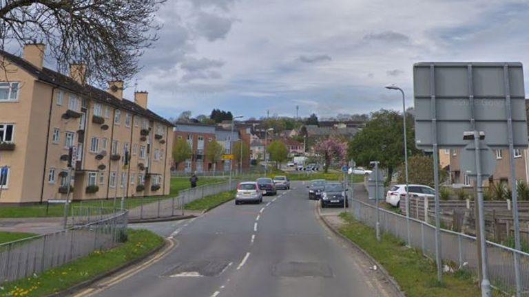 Balfe Road, Newport, South Wales. Pic: Google Street View