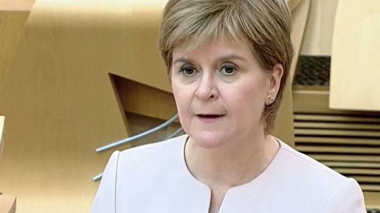 Nicola Sturgeon announces some relaxation of restrictions around weddings and funerals