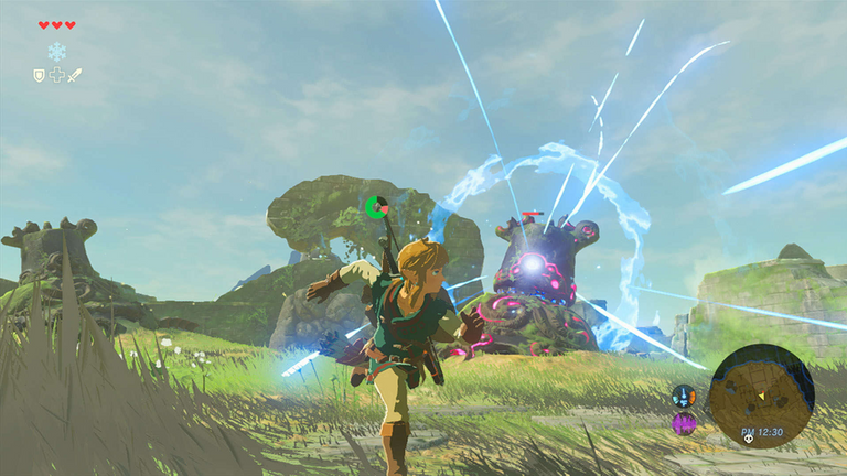 The Legend Of Zelda: Breath Of The Wild was a runaway success following its 2017 launch. Pic: Nintendo