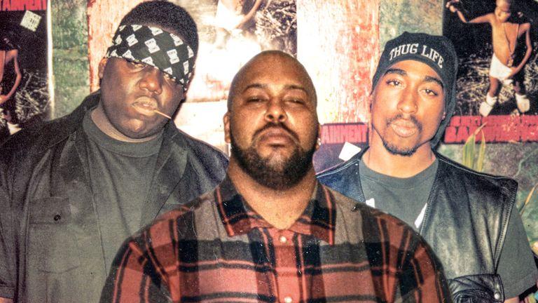 Notorious Big, Suge Knight, Tupac Shakur. Pic: Film Four/Lafayette/Kobal/Shutterstock/Dogwoof
