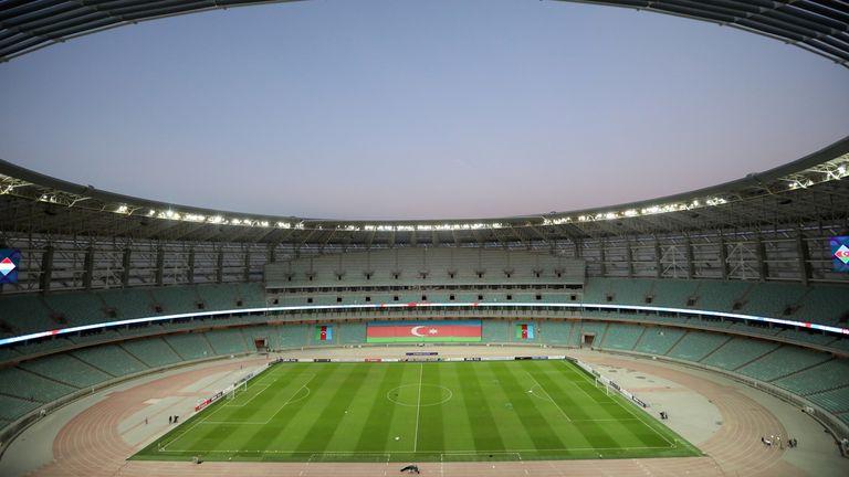 The Olympic Stadium in Baku
