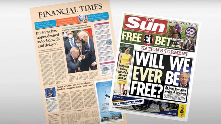 Tonight's daily papers