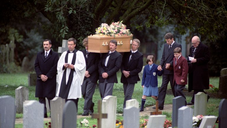 Penny Bell's funeral