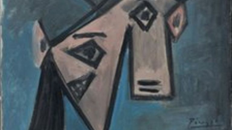 Picasso's 1939 Woman's Head