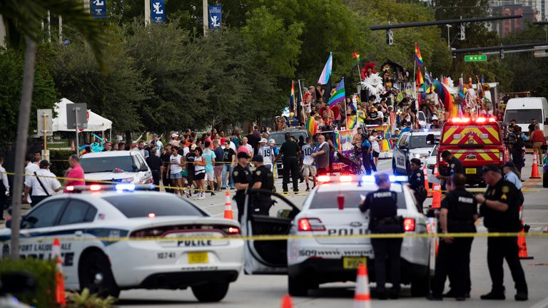 According to Fort Lauderdale Gay Man's Chorus family, the drivers and the victims were part of the group. Pic AP