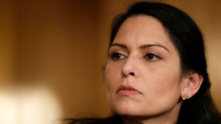 Priti Patel has admitted feeling 'deeply ashamed' by the findings of the review
