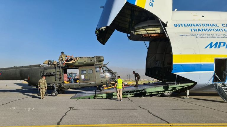 The RAF Puma detachment serving in Afghanistan in support of the NATO Resolute Support Mission since March 2015 has now returned to RAF Benson, as part of the withdrawal of NATO forces from the country.