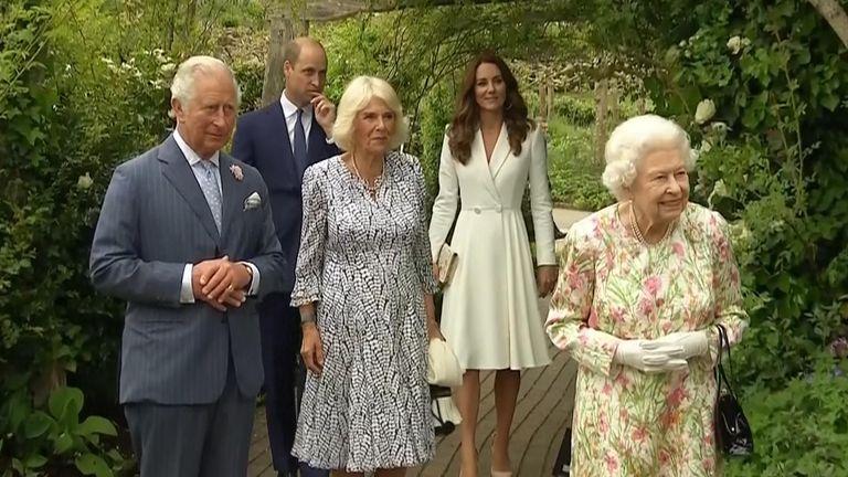 Queen in Cornwall