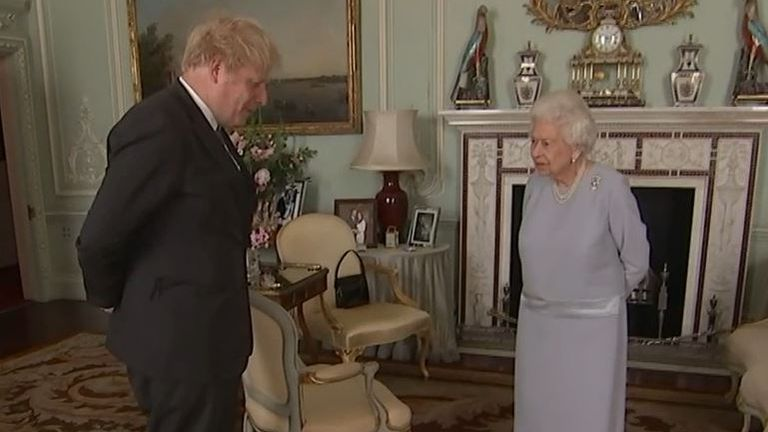 The Queen and Boris Johnson meet for first time in over a year