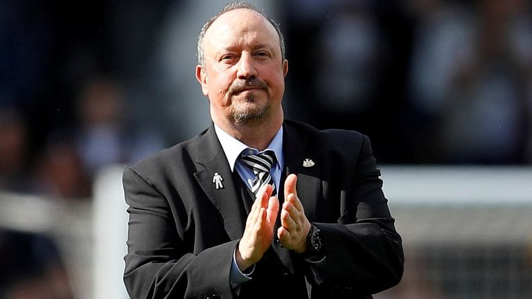 Rafael Benitez has been linked with a return to Merseyside, but this time with Everton. File pic