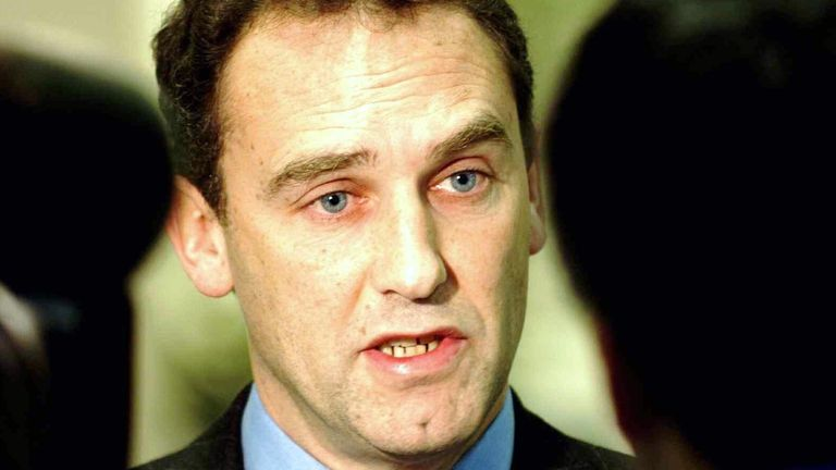 Chief executive Richard Baker speaks at the Boots head office in Nottingham 15/1/2004