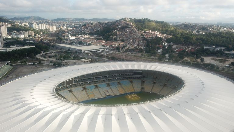 The final of the tournament will be held at Rio's Maracana stadium