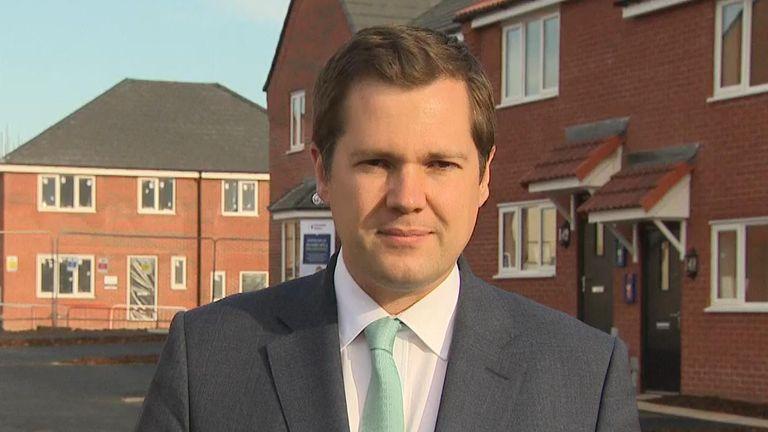 Roobert Jenrick MP, Housing Secretary