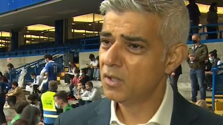 Sadiq Khan urges all Londoners to get a COVID jab