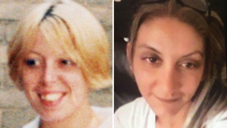 Samantha Class and Alena Grlakova, killed by Gary Allen 21 years apart