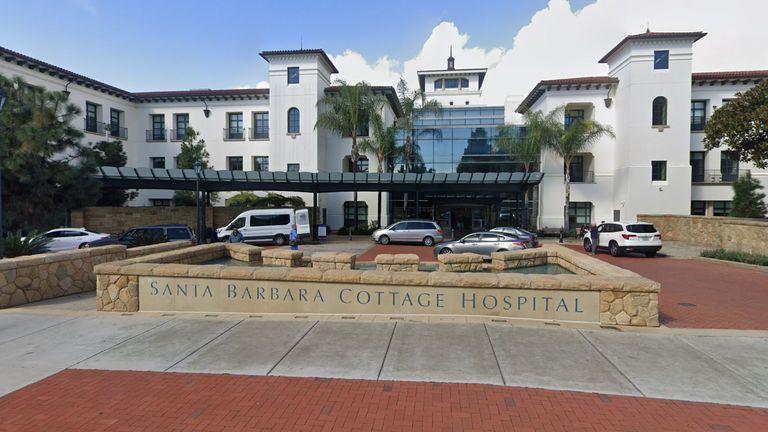 Santa Barbara Cottage Hospital in California. Pic: Google Street View