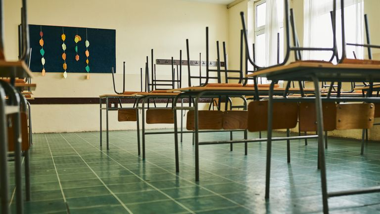 Entire classes of children have been sent home as a result of one positive case