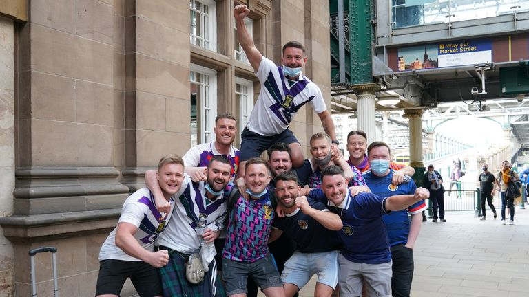 Scotland fans preparing to travel to London