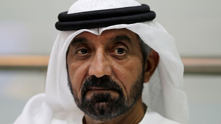 Sheikh Ahmed bin Saeed Al Maktoum is president of the UAE's Department of Civil Aviation in addition to CEO of Emirates. Pic: AP