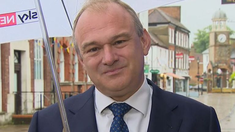 Sir Ed Davey reflects on a landmark victory for his party in a by-election