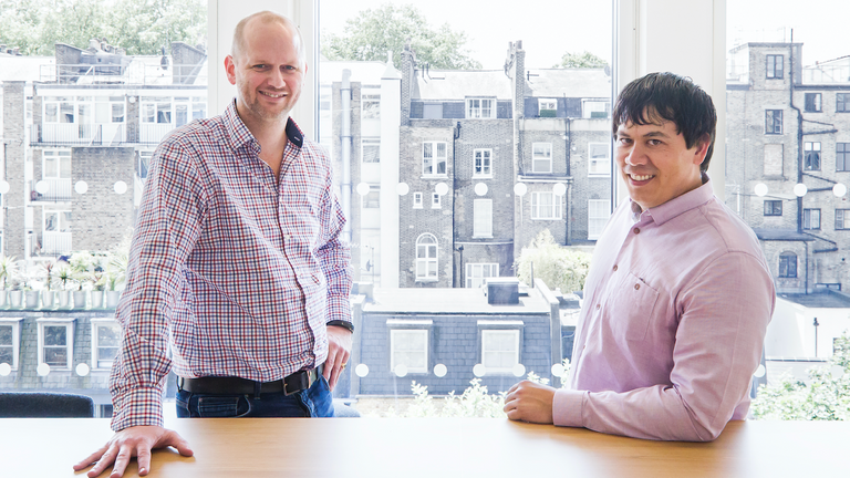 Will Wynne, co-founder and group CEO, Smart; and Andrew Evans, co-founder and group MD, Smart.