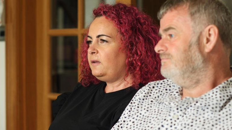 Sophia and Lee Tattersall say they have been struggling
