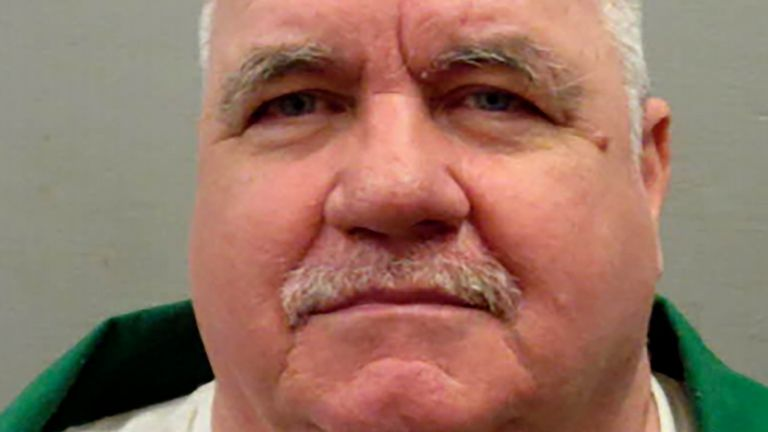 Brad Sigmon has been on death row since 2002, convicted of murdering his girlfriend's parents with a baseball bat. Pic AP