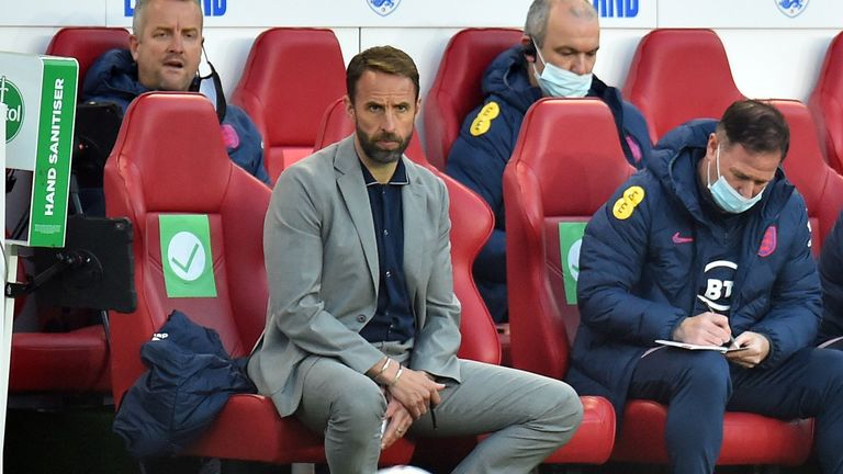 Southgate says the jeering feels as if it's a criticism of the team's black players