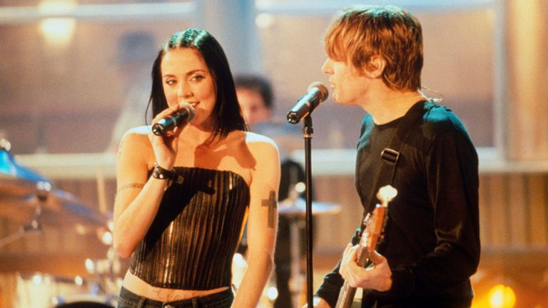 Melanie Chisholm and Bryan Adams released duet When You're Gone in 1998. Pic: Action Press/Shutterstock