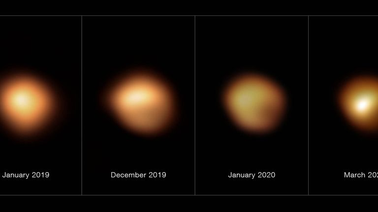 The Great Dimming significantly reduced the brightness of Betelgeuse