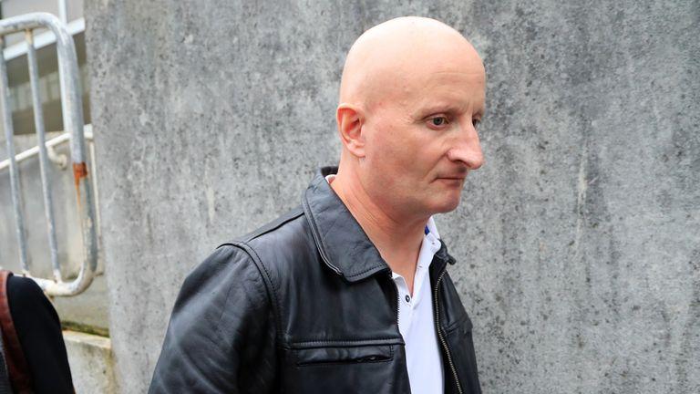 Steve Bouquet at a previous court appearance