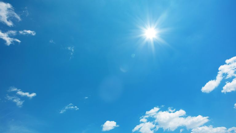 The UK has recorded its hottest day of the year so far. The temperature reached 28.6C (83.48F) at Heathrow airport in west London on Monday, the Met Office said.