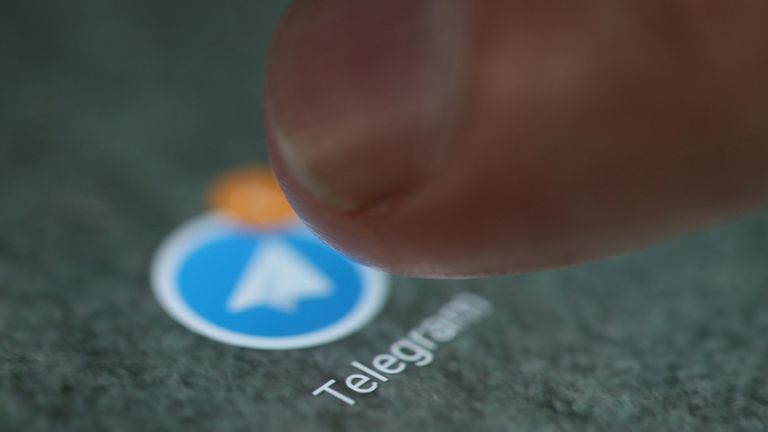 The teenager ran the public channel – said to be openly racist by prosecutors – on the encrypted Telegram app. File pic