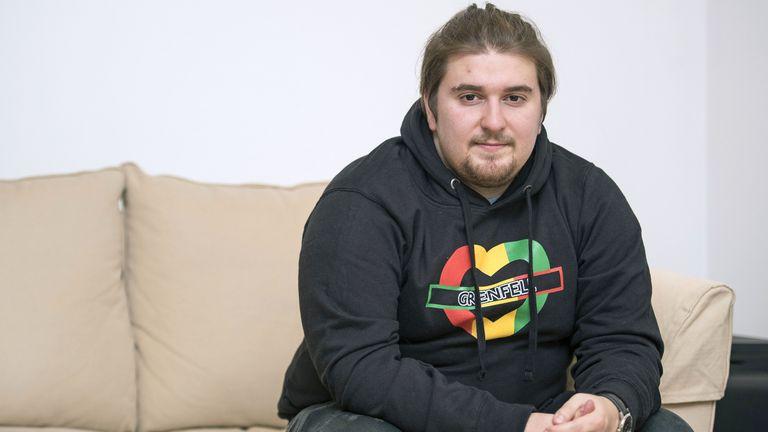 Grenfell survivor Tiago Alves