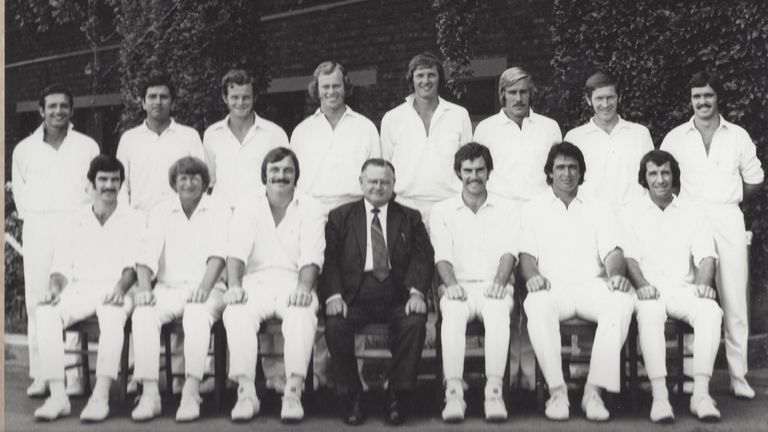 Tony Dell played alongside former Australia captain Greg Chappell for Queensland in the mid-1970s. Pic: Tony Dell