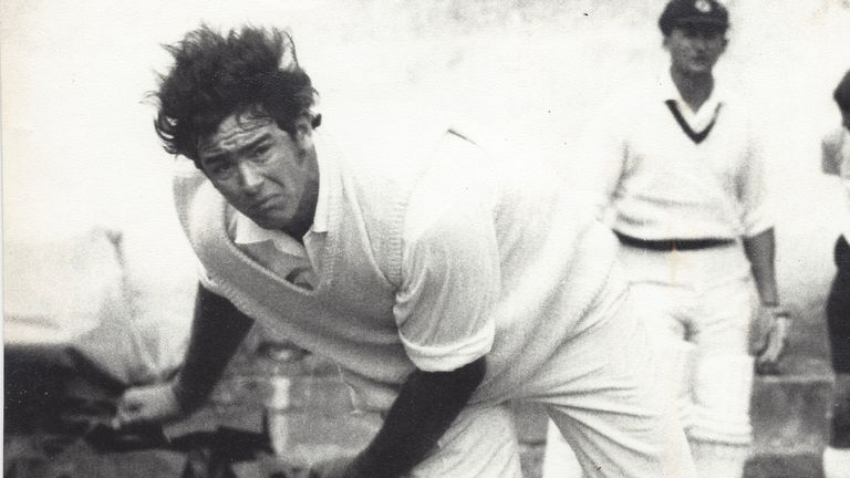 Tony Dell was born and raised in Hampshire but played international cricket for Australia. Pic: Tony Dell