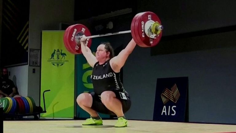 Weightlifter Laurel Hubbard will become the first transgender athlete to compete at the Olympics.
