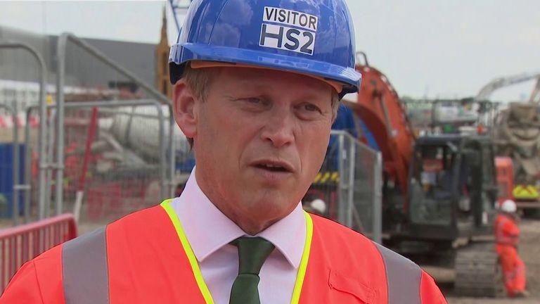 The Transport Secretary is Grant Shapps.