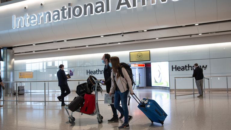 More holiday destinations are expected to be added to the green list Pic: AP