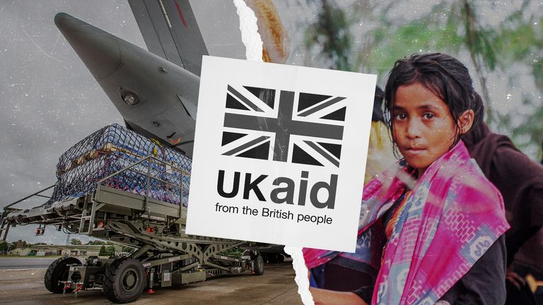 The UK has spent 0.7% of Gross National Income on foreign aid since 2013