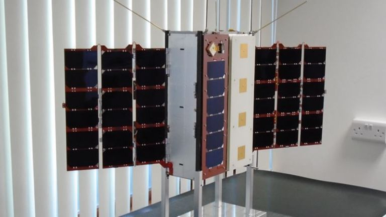 The UK-built satellites will be launched from the Kennedy Space Center on Friday