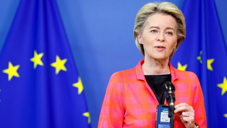 Ursula von der Leyen says the ruling supported the EU's point of view