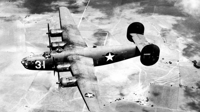 The team are searching for a B-24 Liberator. Pic: US Airforce