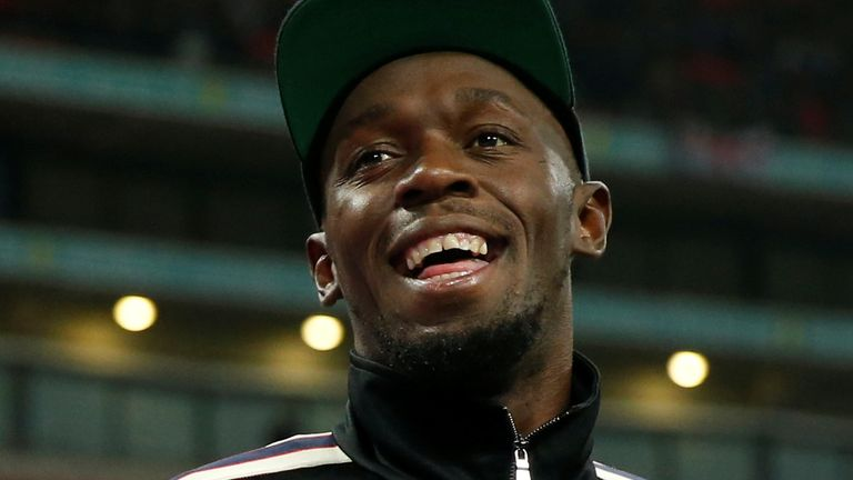 Bolt and his girlfriend Kasi Bennett both announced the news on Instagram