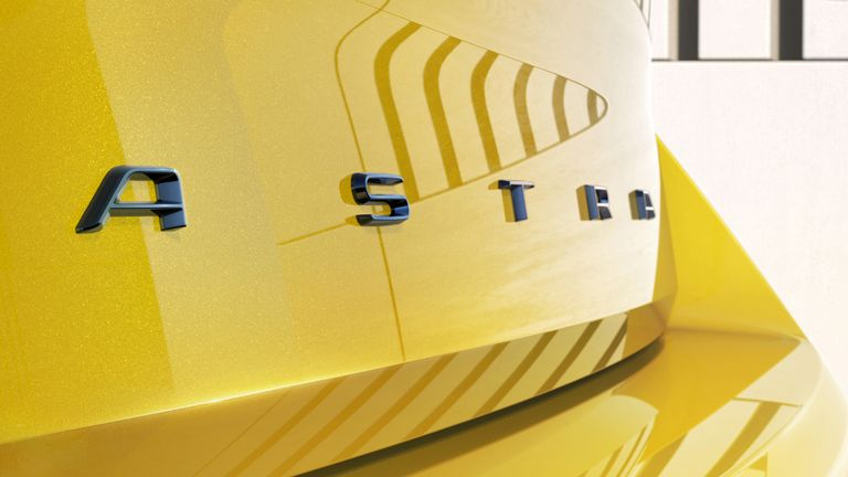 The company is promising more details on the all-electric Astra in the coming months. Pic: Vauxhall