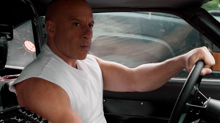 Vin Diesel as Dom Toretto in F9, co-written and directed by Justin Lin. Pic: AP