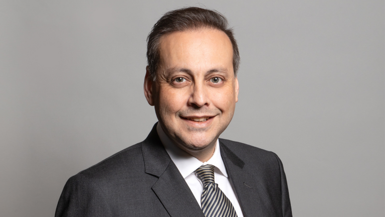Conservative MP for Wakefield, Imran Ahmad Khan. Pic: House of Commons