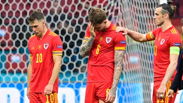 Wales were left dejected come the full-time whistle