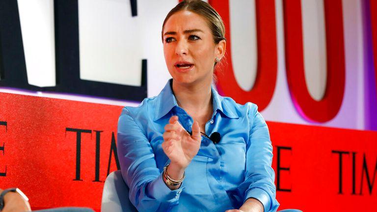 Fundador y CEO de Bumble Whitney Wolfe Herd